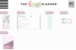 Mambi Happy Planner Classic Accessories -pakkaus - Fitness/Wellness