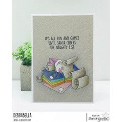 Stamping Bella Gnome With A List -leimasin