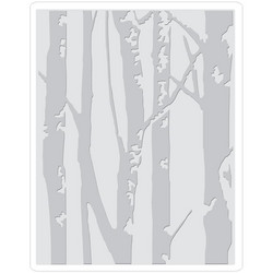 Sizzix kohokuviointikansio Birch Trees By Tim Holtz