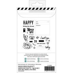 Heidi Swapp Honey & Spice leimasinsetti Icons & Phrase
