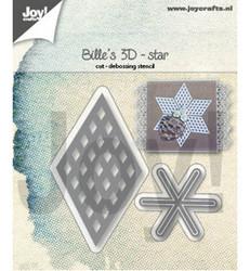 Joy! Crafts stanssisetti Bille's 3D Star