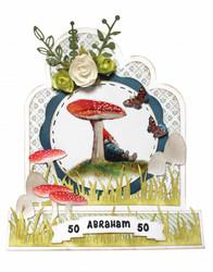 Joy! Crafts stanssisetti Mushrooms