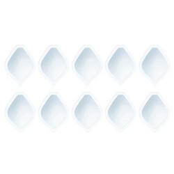 Tonic Shaker -kuvut, täyttösetti Diamond Bauble