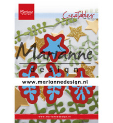 Marianne Design Christmas Green -stanssisetti