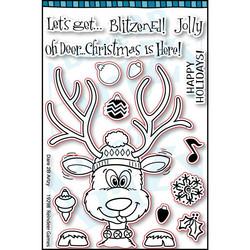 Dare2BArtzy leimasinsetti Reindeer Games