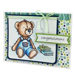 Dare2BArtzy leimasinsetti Bear Hugs