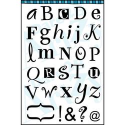 Dare2BArtzy leimasinsetti Alphabet Whimzy