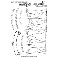 Colorado Craft Company leimasinsetti Lovely Legs - Body Positivity