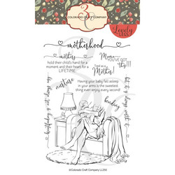 Colorado Craft Company leimasinsetti Lovely Legs - Motherhood