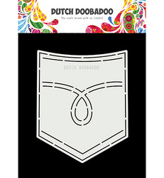 Dutch Doobadoo Jeans Pocket -sapluuna