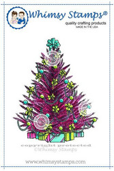 Whimsy Stamps Christmas Tree -leimasin