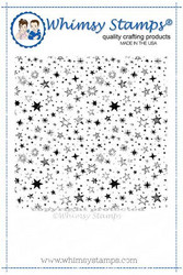 Whimsy Stamps Galaxy Galore Background -leimasin