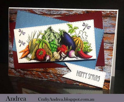 Whimsy Stamps Harvest Delight-leimasin