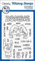 Whimsy Stamps Zombie-Licious -leimasinsetti