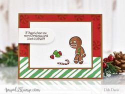 Whimsy Stamps GingerSnaps! -leimasinsetti