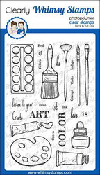 Whimsy Stamps Artist Toolkit -leimasinsetti