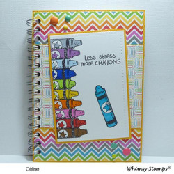 Whimsy Stamps Crayons -leimasinsetti