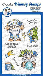 Whimsy Stamps Create Magic -leimasinsetti