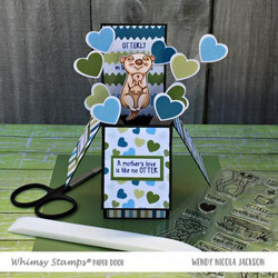 Whimsy Stamps Adorable Otters -stanssisetti