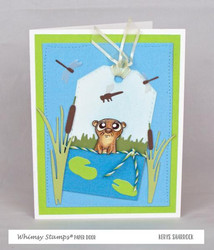 Whimsy Stamps Build-a-Pond -stanssisetti