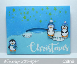 Whimsy Stamps Kinetic Curved Basics -stanssisetti