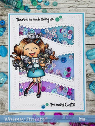 Whimsy Stamps Wavy Edgers -stanssisetti