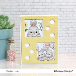 Whimsy Stamps Peekaboo Window 4 -stanssi