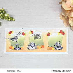 Whimsy Stamps Slimline Marquee -stanssi