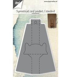 Joy! Crafts stanssi Symmetrical Card Pendant