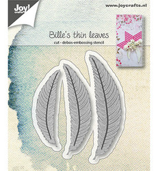 Joy! Crafts stanssisetti Bille's Thin Leaves