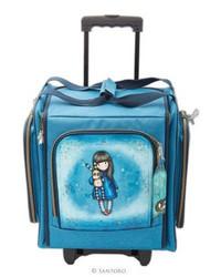Santoro Wheelable Craft Tote -laukku Hush Little Bunny