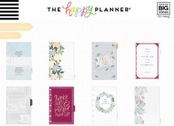Mambi Happy Planner 12 kk päivätty Deluxe Mini Planner -kalenteri, Homebody