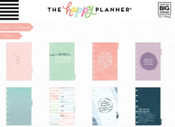 Mambi Happy Planner 12 kk päivätty Mini Planner -kalenteri, Be Well