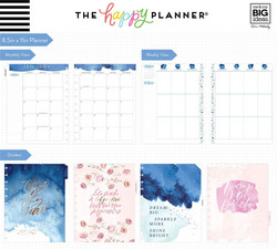 Mambi Happy Planner 12 kk päivätty BIG Planner -kalenteri, Year to Shine