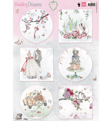 Marianne Design korttikuvat Wedding Dreams