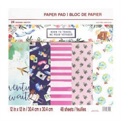 Craft Smart paperipakkaus Born To Travel, 12