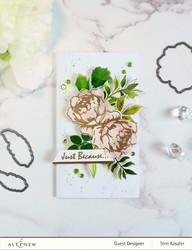 Altenew Rose Blossom -leimasinsetti