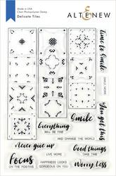 Altenew Delicate Tiles -leimasinsetti