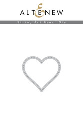 Altenew stanssi String Art Heart