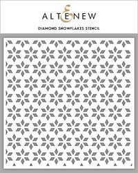 Altenew sapluuna Diamond Snowflakes