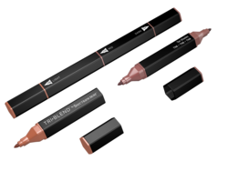 Spectrum Noir TriBlend -tussi, Tan Shades