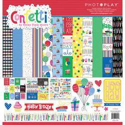 PhotoPlay Confetti -paperipakkaus, 12