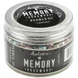 Prima Marketing Memory Hardware Glass Pearls -helmet, Fantasy