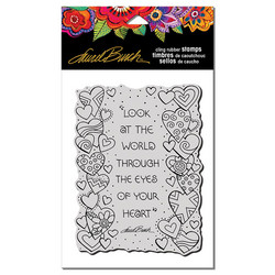 Stampendous Laurel Burch leimasin Heart View
