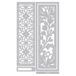 Sizzix Thinlits Botanical Bookmarks -stanssisetti