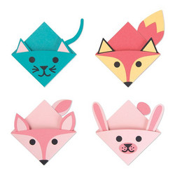 Sizzix Thinlits Animal Bookmarks -stanssisetti