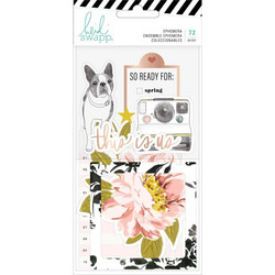 Heidi Swapp Honey & Spice Ephemera Die-Cuts, leikekuvat