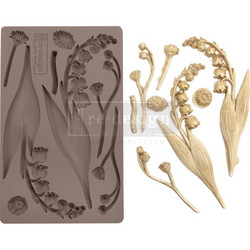 Prima Re-Design Decor Mould -muotti Bell Orchids