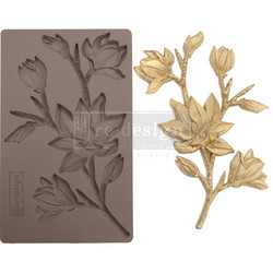 Prima Re-Design Decor Mould -muotti Forest Flora