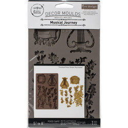 Prima Re-Design Decor Mould -muotti Musical Journey